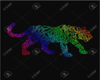 RAINBOW PANTHER BOOTS