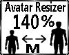 Avatar Scaler 140%