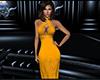 Alana Gold Dress