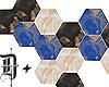 D+. Hexagon Wall Deco
