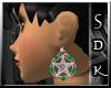 #SDK# Celtic G Earrings