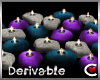 *SC-Drv Chic Candles