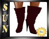 [SUN] Burgundy Boots