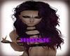 Dark purple curly