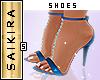 Diamond Heels Blue