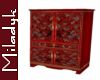 MLK Red J Armoire