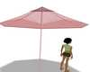 Umbrella Night beach