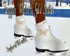 Trigger White,Gold Skate