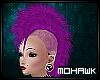 [MO]Dark Purple Mohawk F