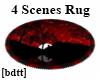 [bdtt]4 Scenes Flash Rug