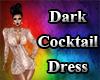 Dark Cocktail Dress