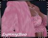 *Leah Pink Fur Coat