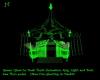 Green Glow-In-Dark Tent
