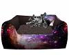 Grey Kitten In Bed