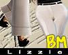 *L* BM Wide Legs {Cream}