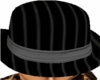 Pinstripe gray hat