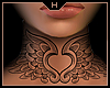 Heart Wings - F Neck Tat