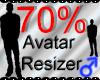 *M* Avatar Scaler 70%