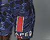 bapeXppsg shorts