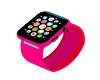 Hot Pink Apple Watch