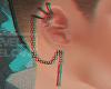 G: Cross Chain Earring