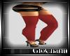 Glo* RedKnitLeggings