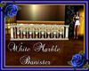 White Marble Banister
