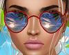 L! Tropical Glasses