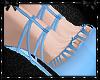 Sweetheart Blue Heels