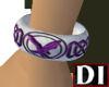 DI Purple Celtic Bangle