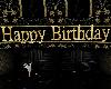 Birthday Banner Gold
