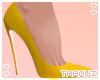 T | Yellow Pumps