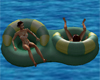 Couples Pool Float