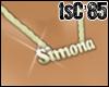 [85] Necklace Simona