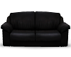 Poseless Black Couch