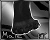 (M)Blk Big Paw Slim [FT]