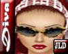 JLD~Diva Glasses Leopard