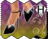 /-/ Black Sequin Heels