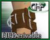 HFD D-ring WristCuff L M