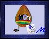 Horse Rainbow Egg Chair