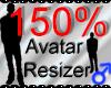*M* Avatar Scaler 150%