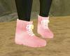 âˆÂ« Furry Pink Yeezys