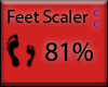 [NaiT] Feet Scaler 81%