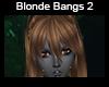 Blonde Bangs 2