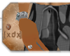 [XDX] Urban Camo Shorts