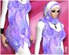 24:Muslimah Purple Dress