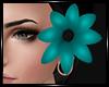|L|Hair Flower Teal R