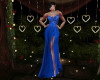 Elegante Blue Gown