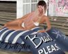 ROMANTIC BEACH PILLOW