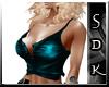 #SDK# Cyan Sexy Top